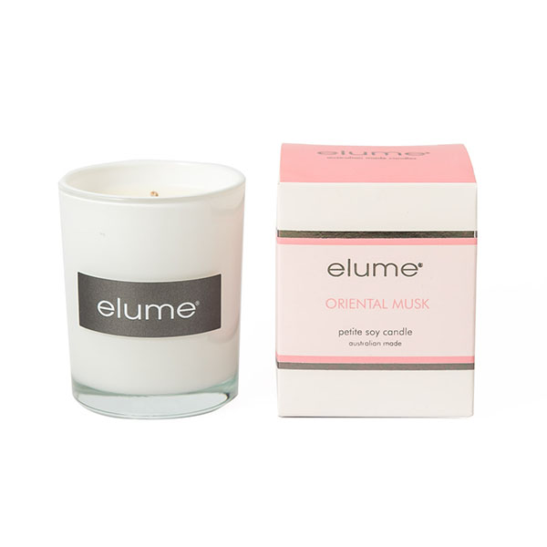 Elume Oriental Musk Petite Soy Candle And Box