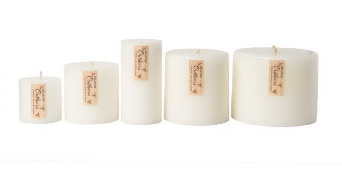 Elume Outdoors Citronella Teatree And Lavender Soy Pillar Candles Extra Small To Extra Large