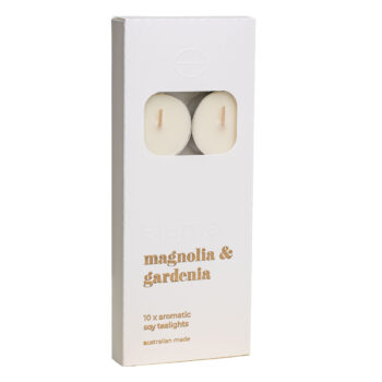 Elume Magnolia And Gardenia Scented Tealights 10Pack