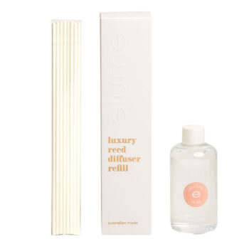 Elume Oriental Musk Scented Luxury Reed Diffuser Refill Box Sticks And 200ml Bottle