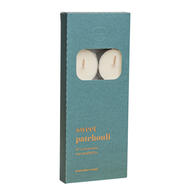 Elume Sweet Patchouli Scented Tealights 10Pack
