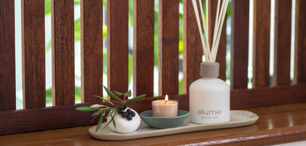 Elume Reed Diffuser And Mini Soy Candle blog